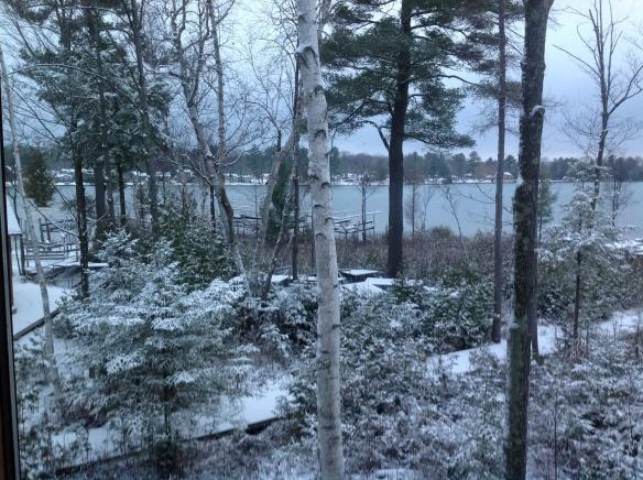 November Morning Elk Lake